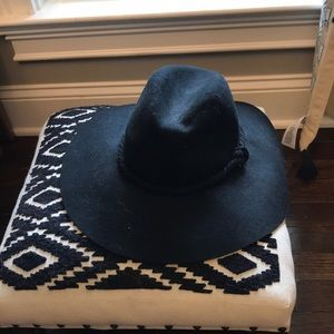 Free people boho wool felt hat